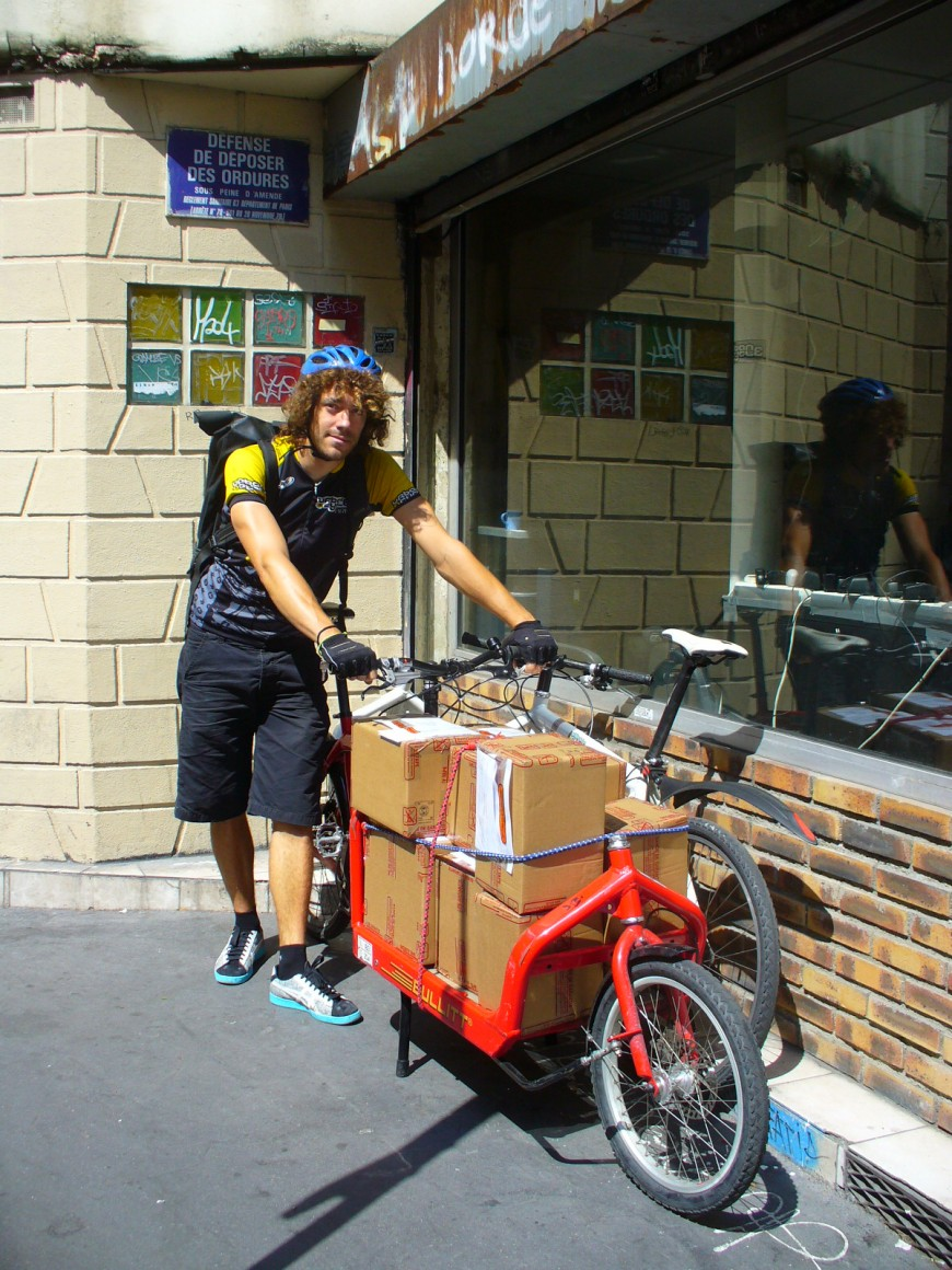 Gautier coursier urbancycle