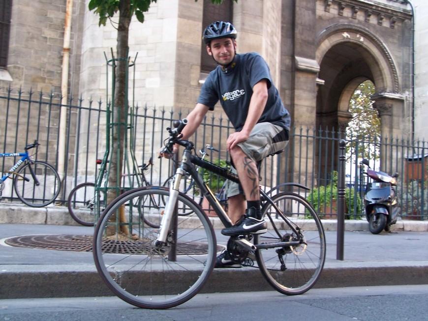 Phil, co-gérant fondateur urbancycle