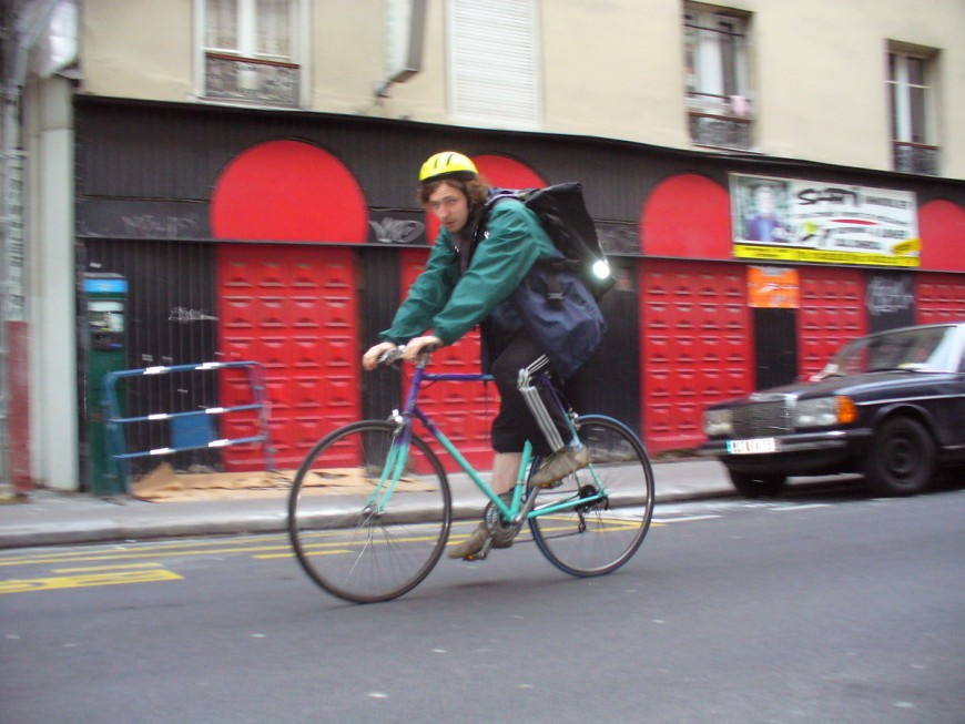 Philippe ancien coursier urbancycle