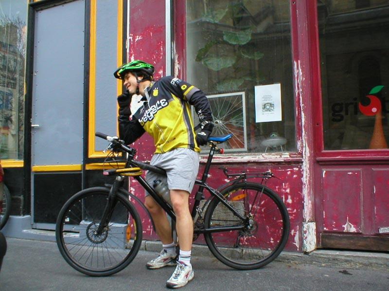 Alexandre ancien coursier urbancycle