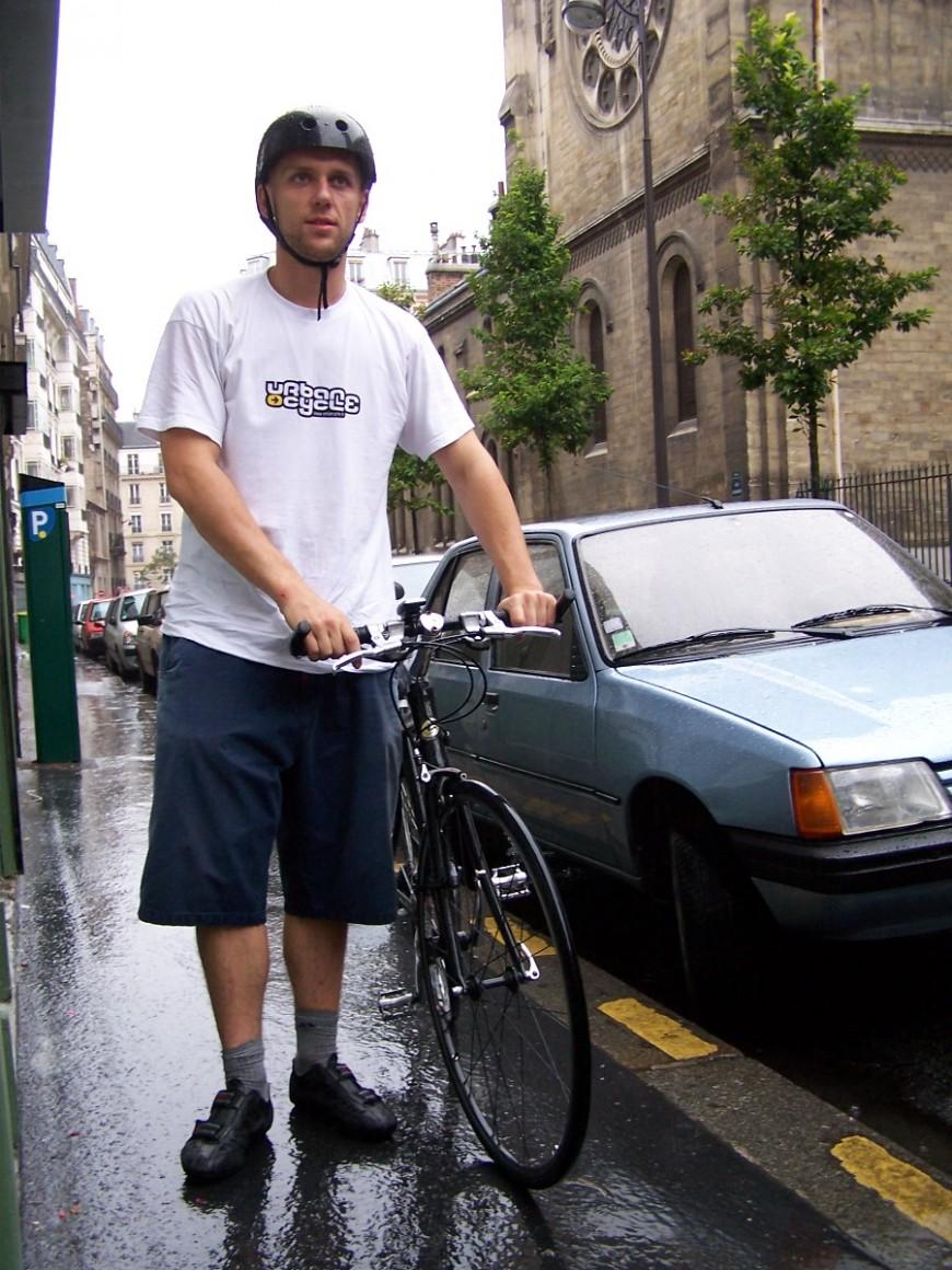 Benjamin ancien coursier urbancycle