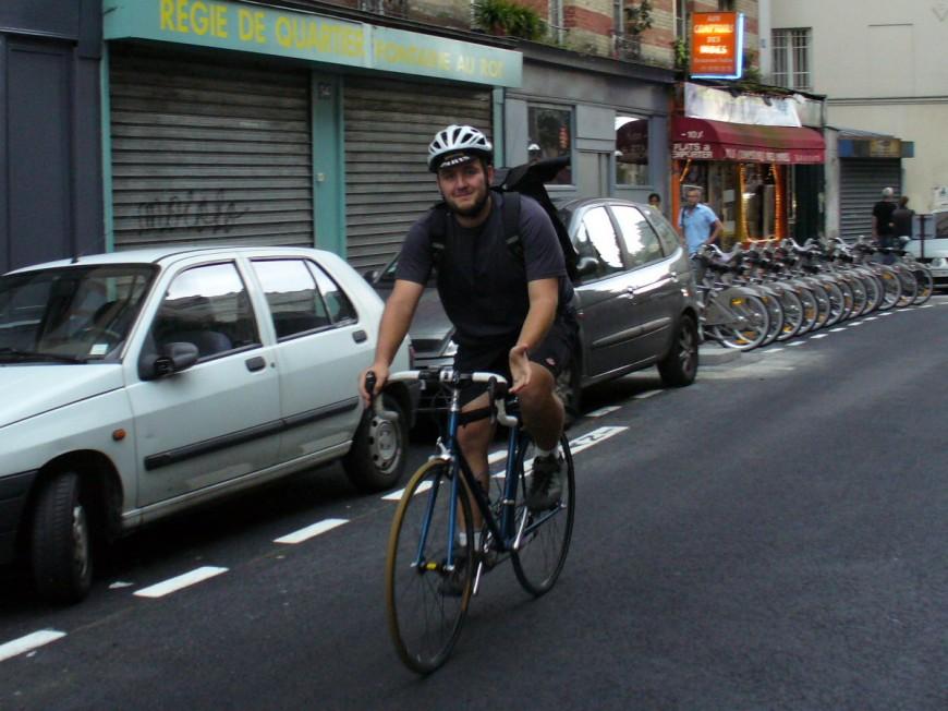 Florian ancien coursier urbancycle