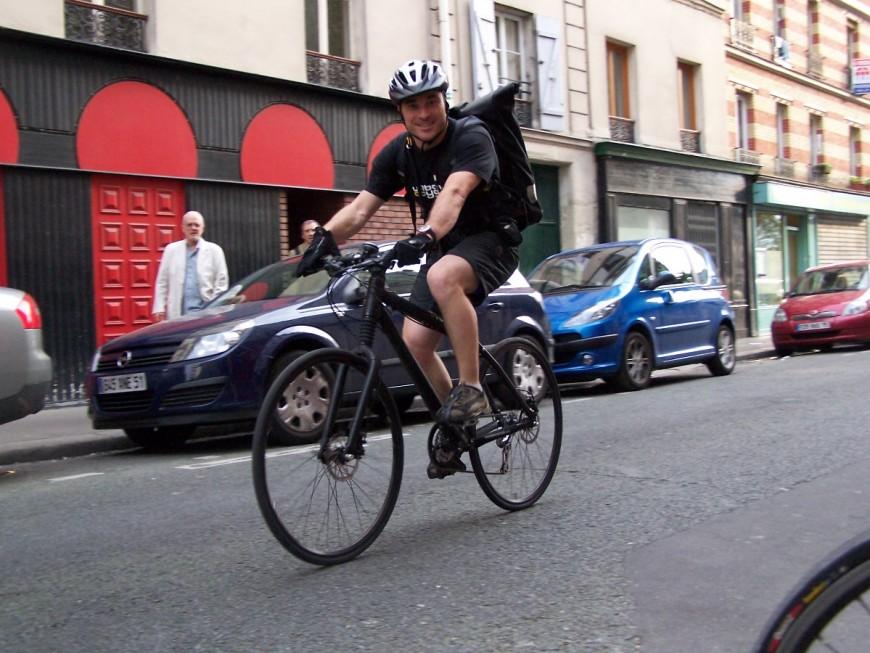 Jean-Damien ancien coursier urbancycle
