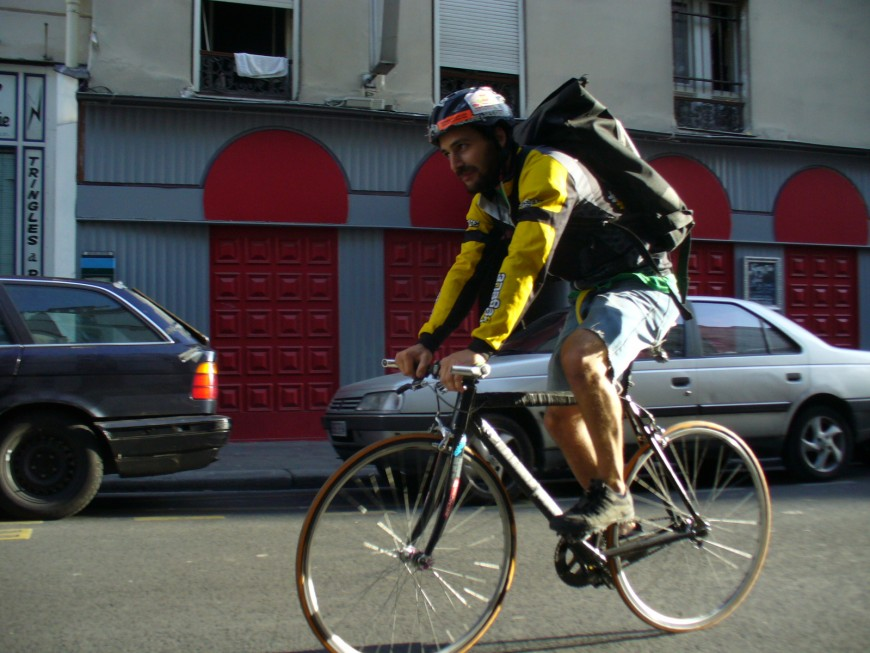 Laurent ancien coursier urbancycle