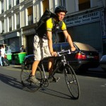 Romain coursier et dispatch urbancycle
