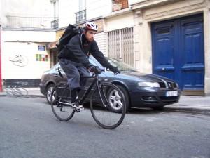 Vincent Vlad ancien coursier urbancycle