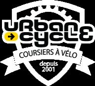 écusson urbancycle - coursiers à vélo parisiens