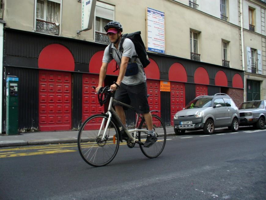 Vincent ancien coursier urbancycle