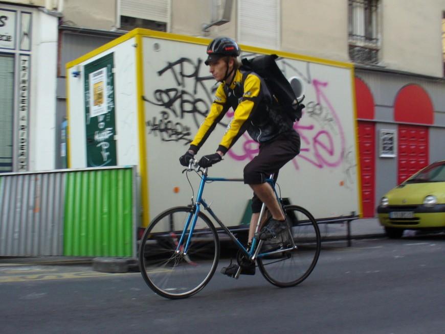 Adrien ancien coursier urbancycle