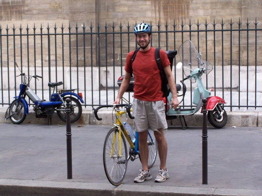 Alex ancien coursier urbancycle