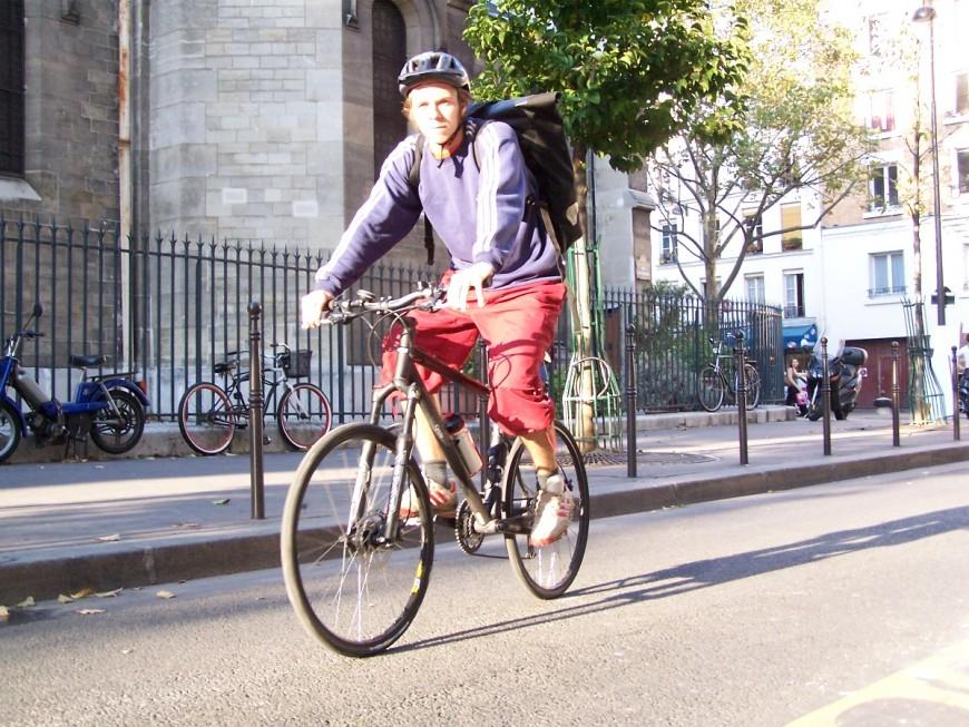 Antoine ancien coursier urbancycle