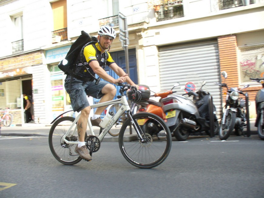 Eric ancien coursier urbancycle