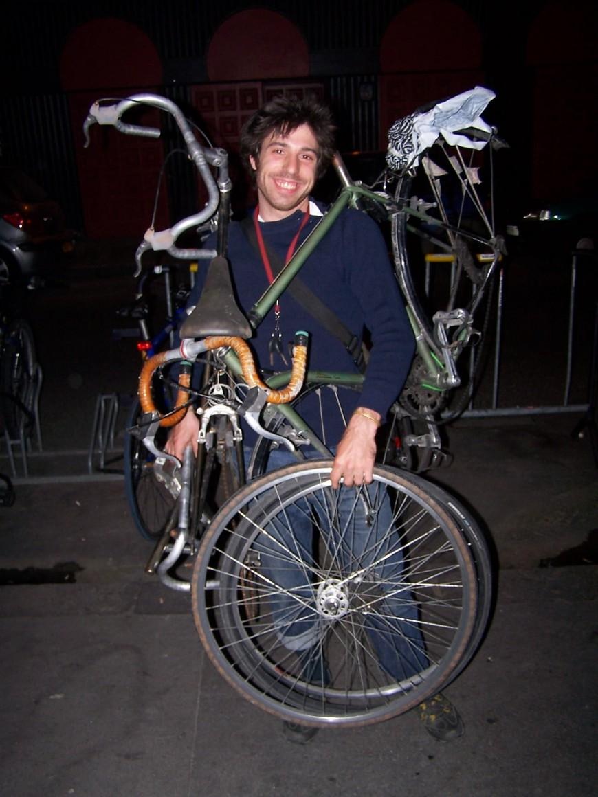 Etienne ancien coursier urbancycle