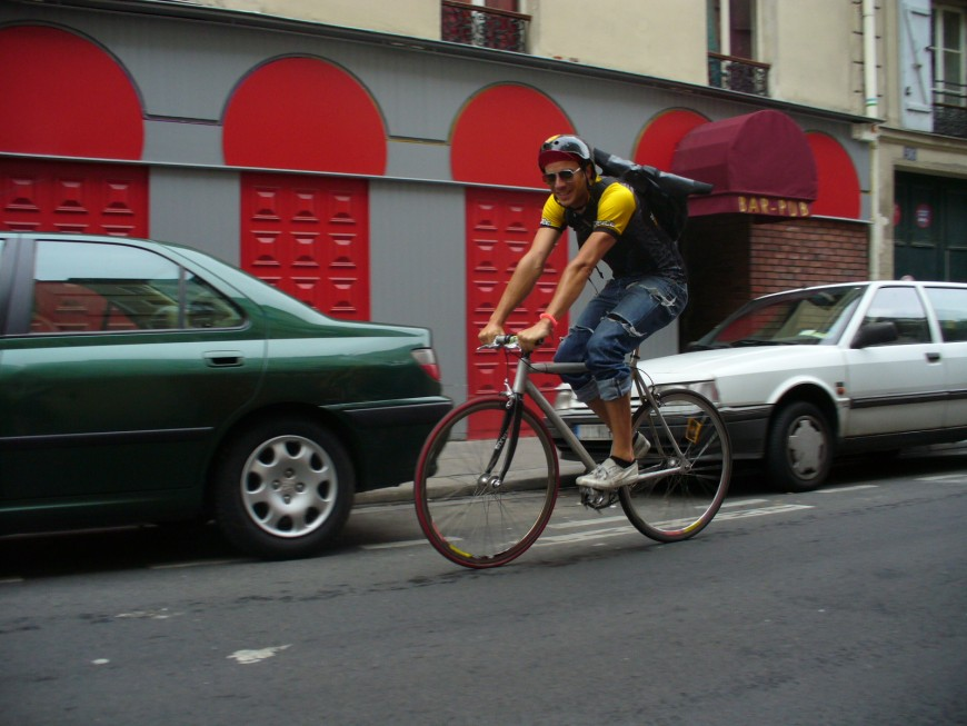 Fabrice coursier urbancycle