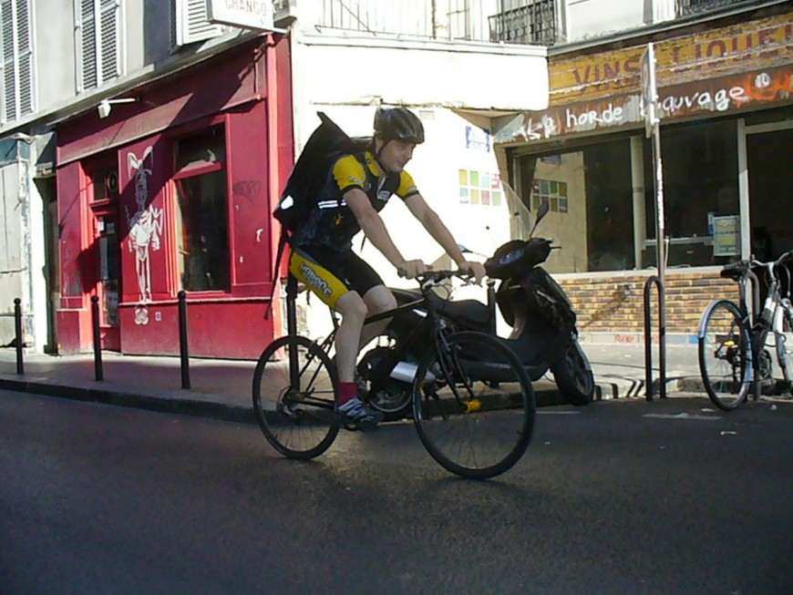 Fred ancien coursier urbancycle