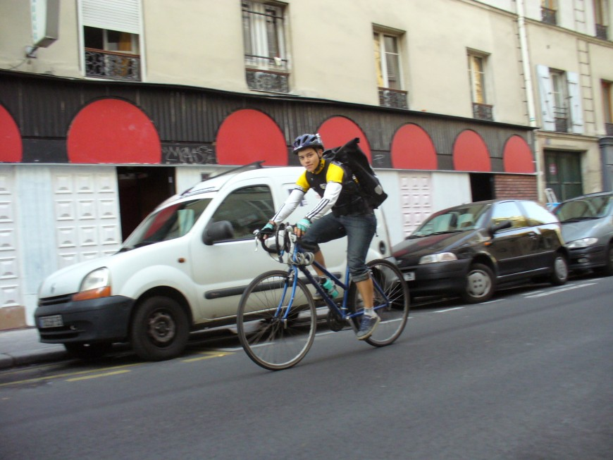 Jehanne ancienne coursier urbancycle