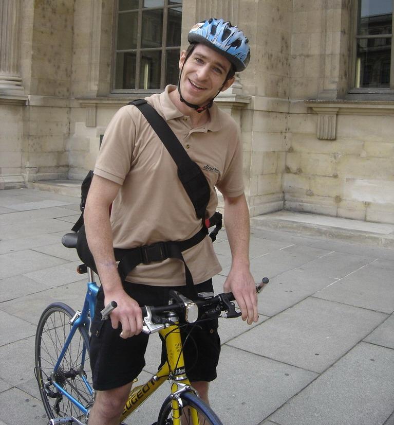 Jérémie ancien coursier urbancycle