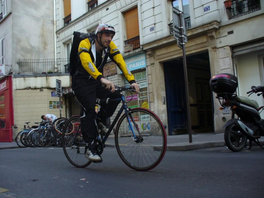 Jonathan ancien coursier urbancycle