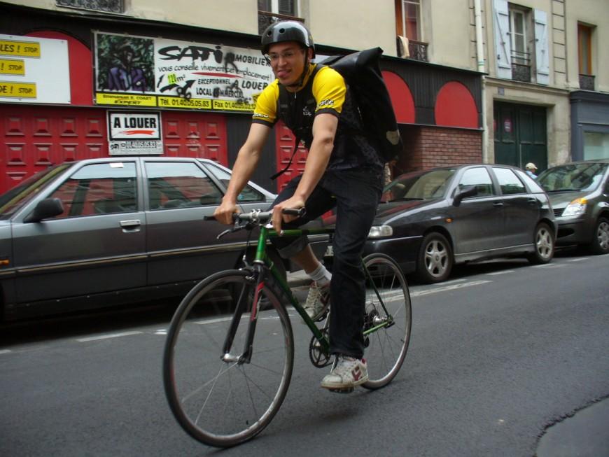 Max ancien coursier et mécano urbancycle