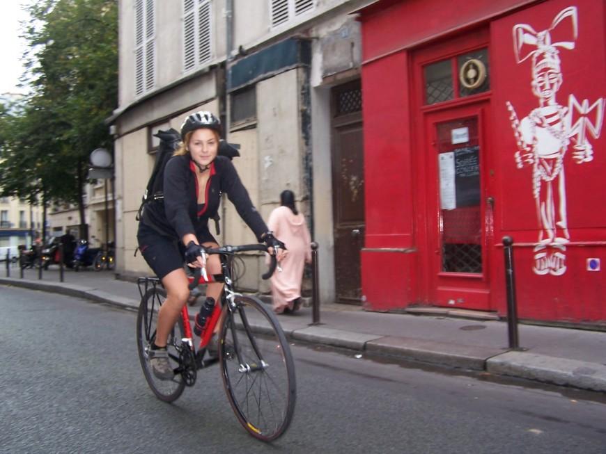 Mélanie ancienne coursier urbancycle
