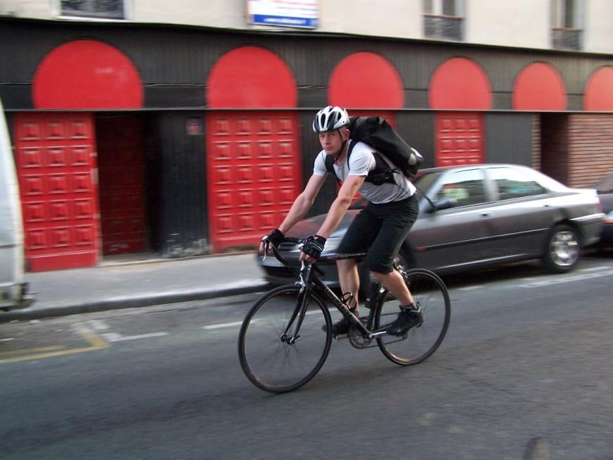 Michel ancien coursier urbancycle