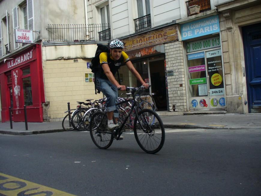 Pierre ancien coursier urbancycle