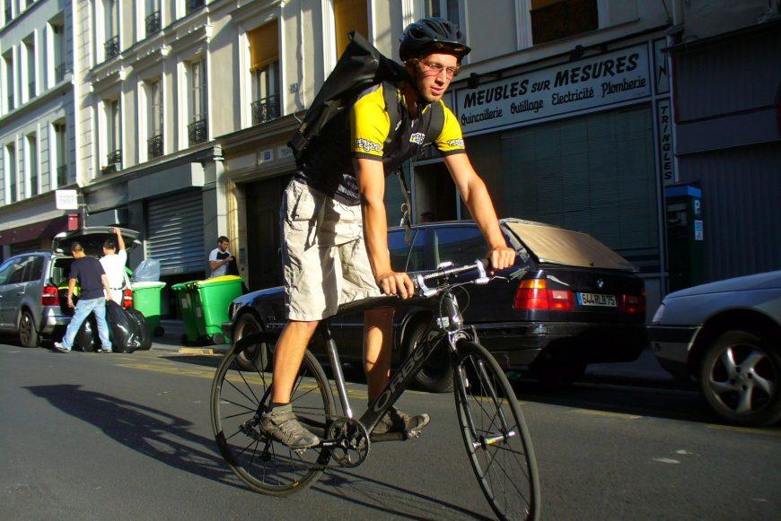 Romain coursier et dispatch urbancycle