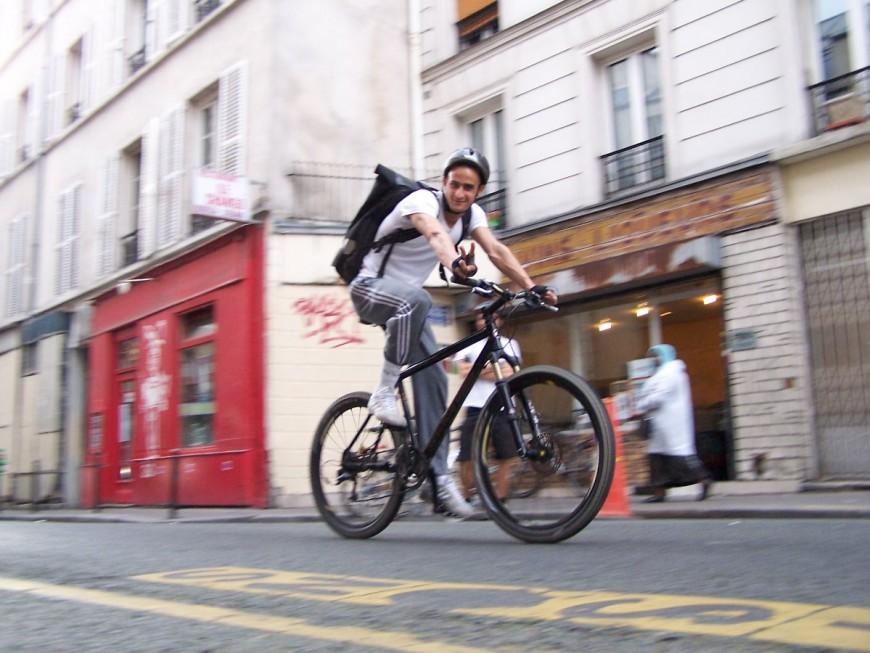 Salim ancien coursier urbancycle