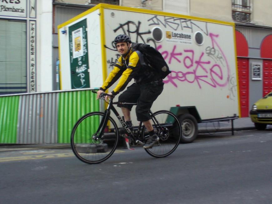 Séverin ancien coursier urbancycle