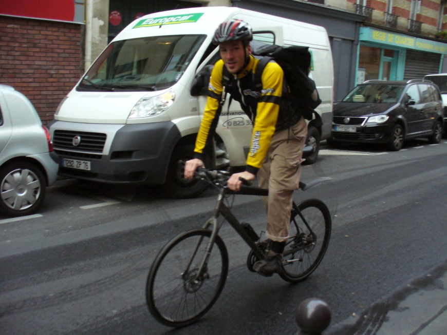 Thomas ancien coursier urbancycle