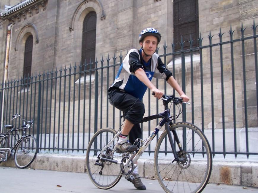 Vincent ancien cursier urbancycle